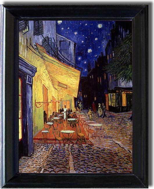 Vincent-Van-Gogh-Cafe-Terrace-at-Night-Classic-Framed-Canvas-Art-L12278979